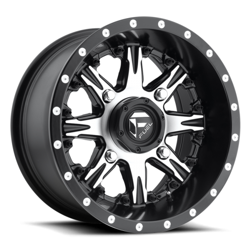 Fuel UTV Nutz Set Of 4 Wheels (With Optional Tire Package)
