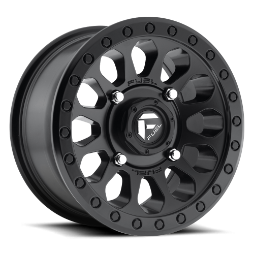 Fuel UTV Vector Set Of 4 Wheels (With Optional Tire Package)