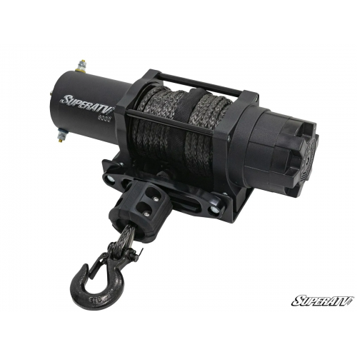 6000 Lb UTV Winch With Wireless Remote And Synthetic Rope