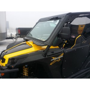 Can-Am Commander Vented UTV Windshield