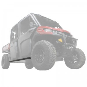 Can-Am Defender Max UHMW Rock Sliders