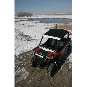 Can-Am Maverick Trail Folding Vented Windshield