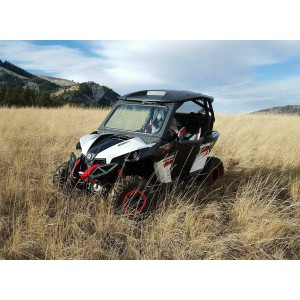 Can-Am Maverick Vented UTV Windshield Kit