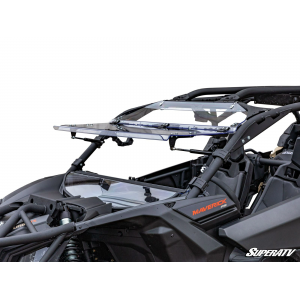 Can-Am Maverick X3 Flip Windshield