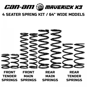 Can-Am Maverick X3 Max X DS Spring Kit (2017-2020)
