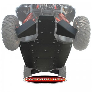 Can-Am Maverick X3 Max X DS Turbo UHMW Ultimate Skid Plate Package