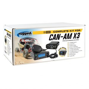 Can-Am X3 Complete UTV Communication Kit with Top Mount