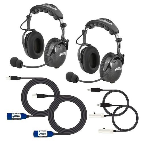 Expand to 4 Place with ALPHA BASS Carbon Fiber Headsets