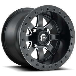 Fuel UTV Maverick Beadlock Set Of 4 Wheels (With Optional Tire Package)