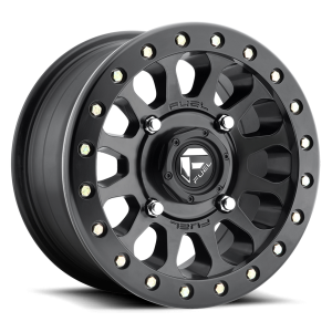Fuel UTV Vector Beadlock Set Of 4 Wheels (With Optional Tire Package)
