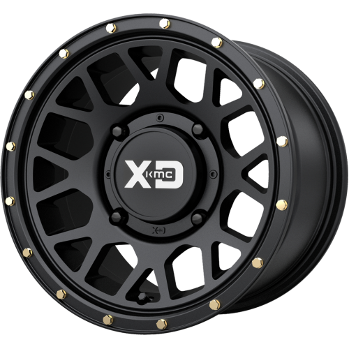 KMC Wheels XS135 Grenade Set Of 4 Wheels (With Optional Tire Package)