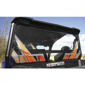 Over Armour Offroad Orange Rear Panel Window For Polaris Generals