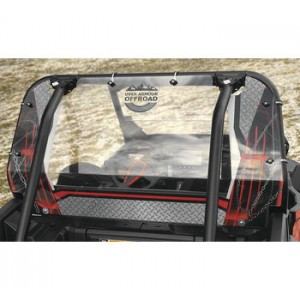 Over Armour Offroad Clear Rear Panel Window For Polaris RZRs
