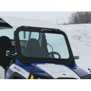 Polaris RZR 570, 800, And 900 Folding Vented Glass Windshield 2014 And Older
