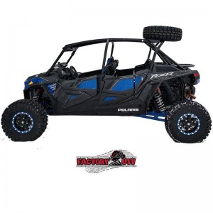 Polaris RZR XP 4 Turbo S Above The Roof Dual Clamp Spare Tire Mount