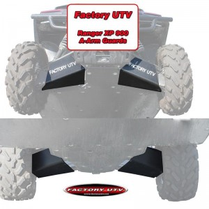 Polaris Ranger Crew 900 UHMW A-Arm Guards