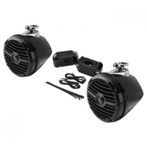Rockford Fosgate Add-on Speaker Kits Rear Speakers for Polaris RZR