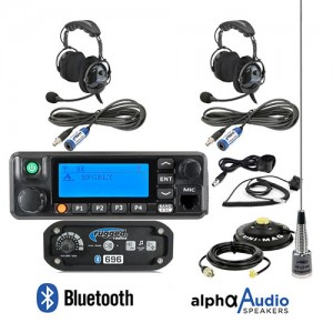 Complete Intercom & Radio Kit For Can-Am X3 Rugged Radios