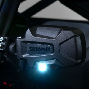 Side View Mirrors Seizmik Pursuit Night Vision 2""