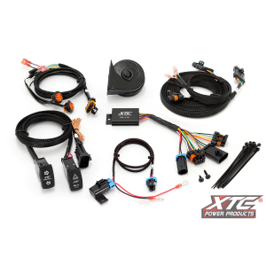 Universal Self-Canceling Turn Signal System With Horn Includes OEM Interface Wires