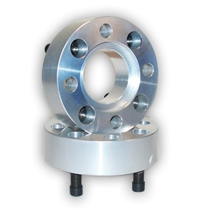 "Wheel Spacers (One Pair) 2.5"" 4/156 12mmx1.5"