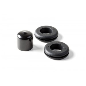 """3 Pack LED Whip Flag Grommets and End Caps for (Fits 3/4"""" Pole XTreme and Silver Xtreme)"""